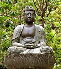Статуя Будды Шакьямуни. Японская традиция