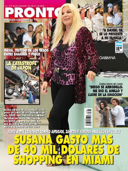 El contraan lisis del espect culo pasando revista susana for Revistas del espectaculo