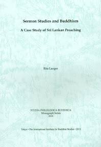 [Langer: Sermon Studies and Buddhism, 2013]