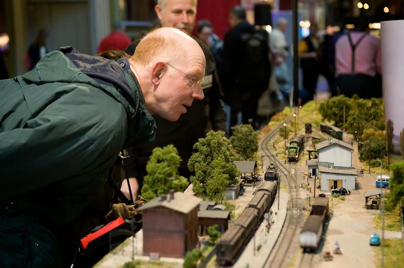 Modelbouw spoorwegmuseum