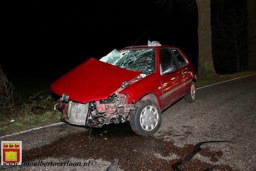 Automobilist gewond bij eenzijdig ongeval op de grens overloon venray 11-12-2012 (13).JPG