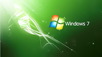 green wallpaper windows 7