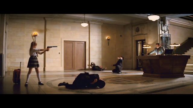 Kick-Ass Frank D'Amico Lobby Film Location Chloe Grace Moretz Jason Flemyng