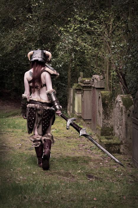 Laura Jansen và bộ ảnh cosplay Skyrim cực chất - Ảnh 7
