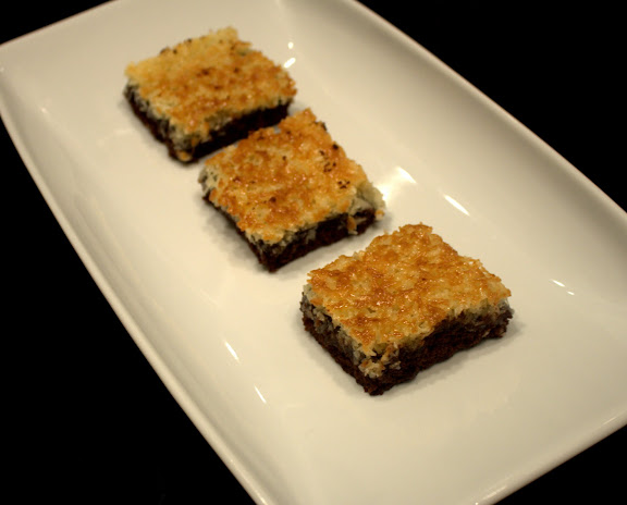 Opskrift på chokoladekage med kokos-karamel - chokoladedrømmekage
