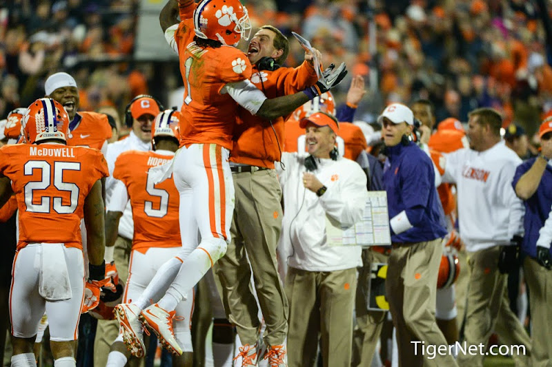 Clemson vs Georgia Tech Photos - 2013, Dabo Swinney, Football, Georgia Tech, Martavis Bryant