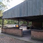 Picnic shelter above Riverside walk (54899)