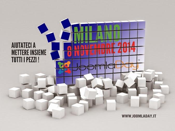Siti web Joomla partecipa al Joomladay anche per il 2014