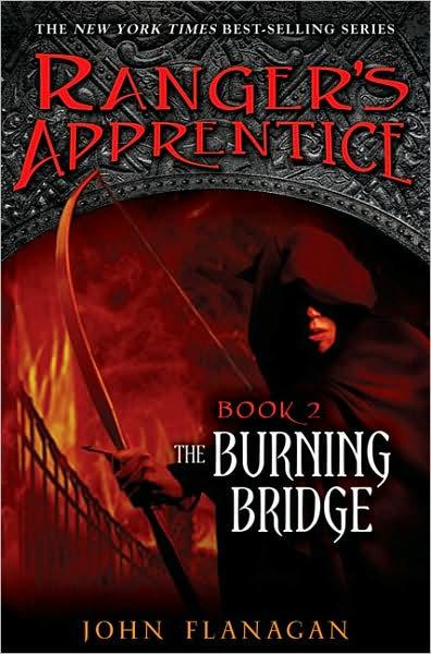 Book Review: The Burning Bridge (Ranger's Apprentice, Book 2), By John Flanagan Cover art