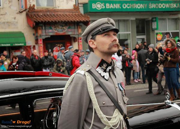 11 listopada święto niepodleglości w Gdyni - Piłsudski