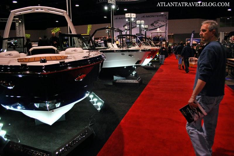 Выставка лодок и катеров в Атланте