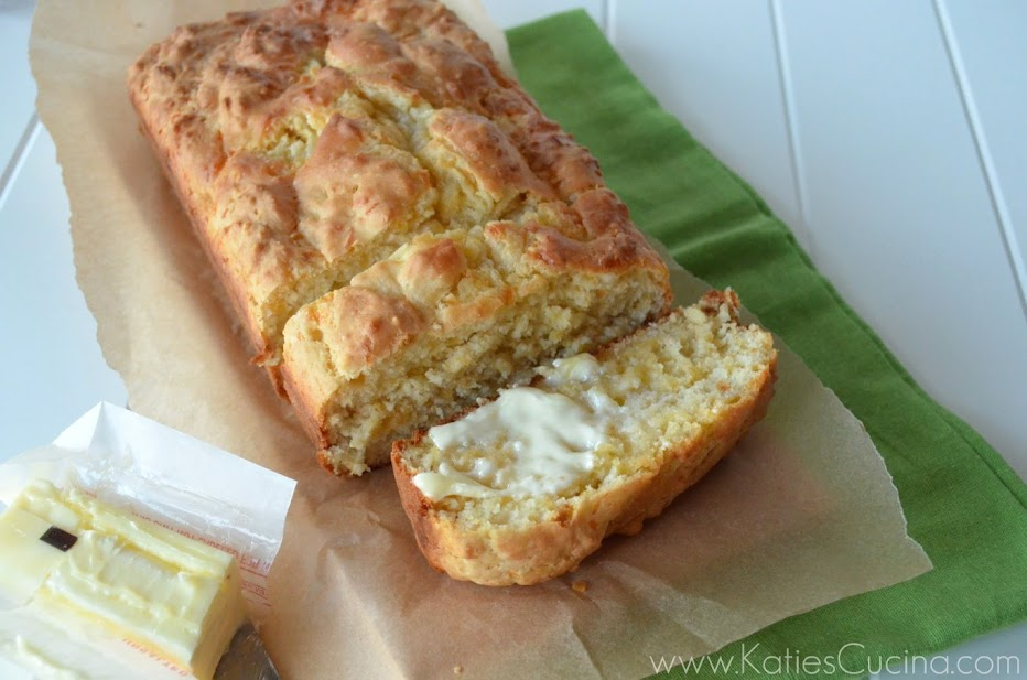 Cheddar Cheese Bread from KatiesCucina.com