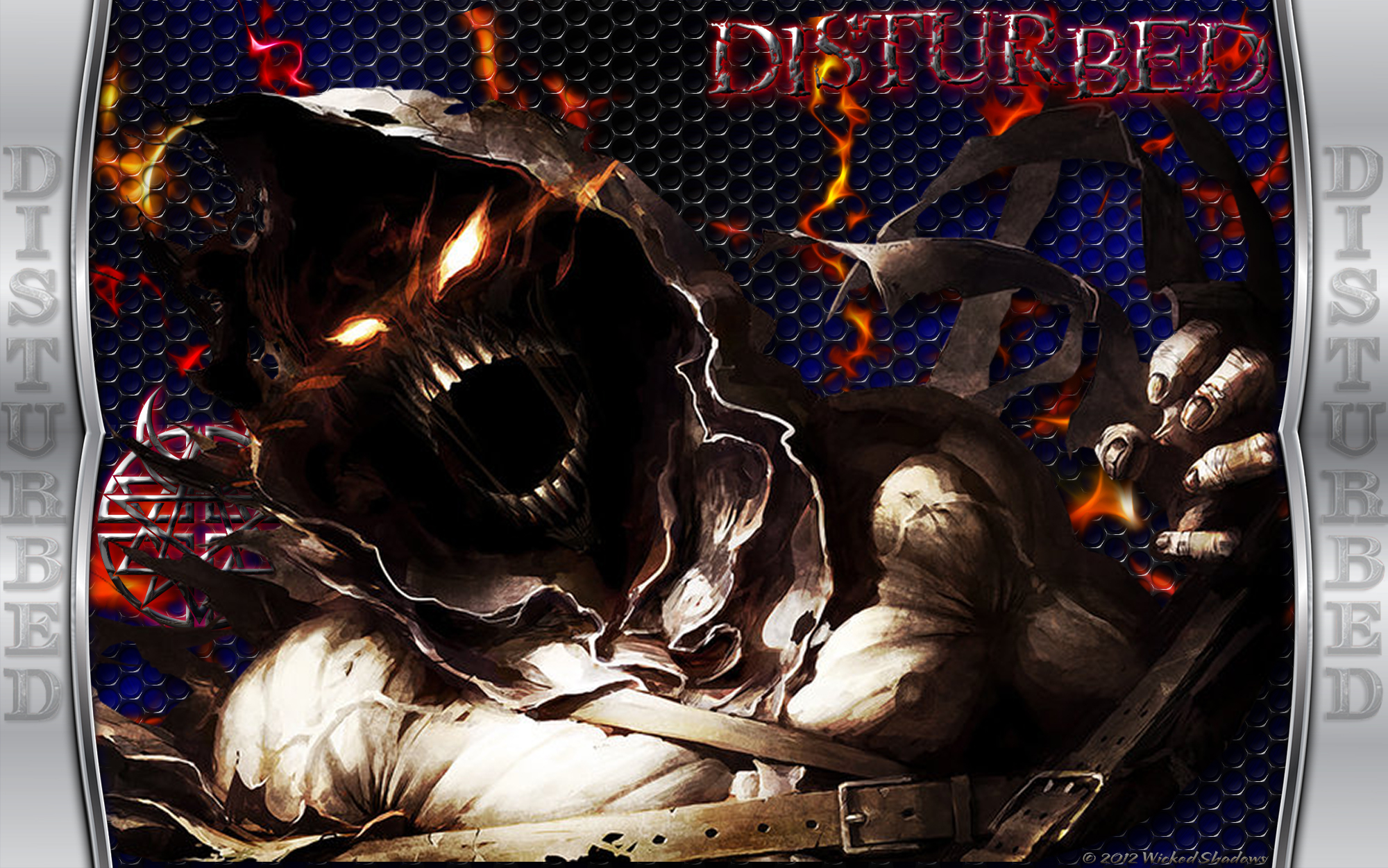 Wallpapers By Wicked Shadows Disturbed Heavy Metal Wallpaper