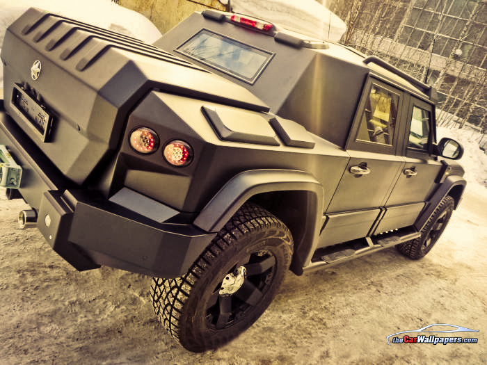 Russian Armored SUV T98 Combat