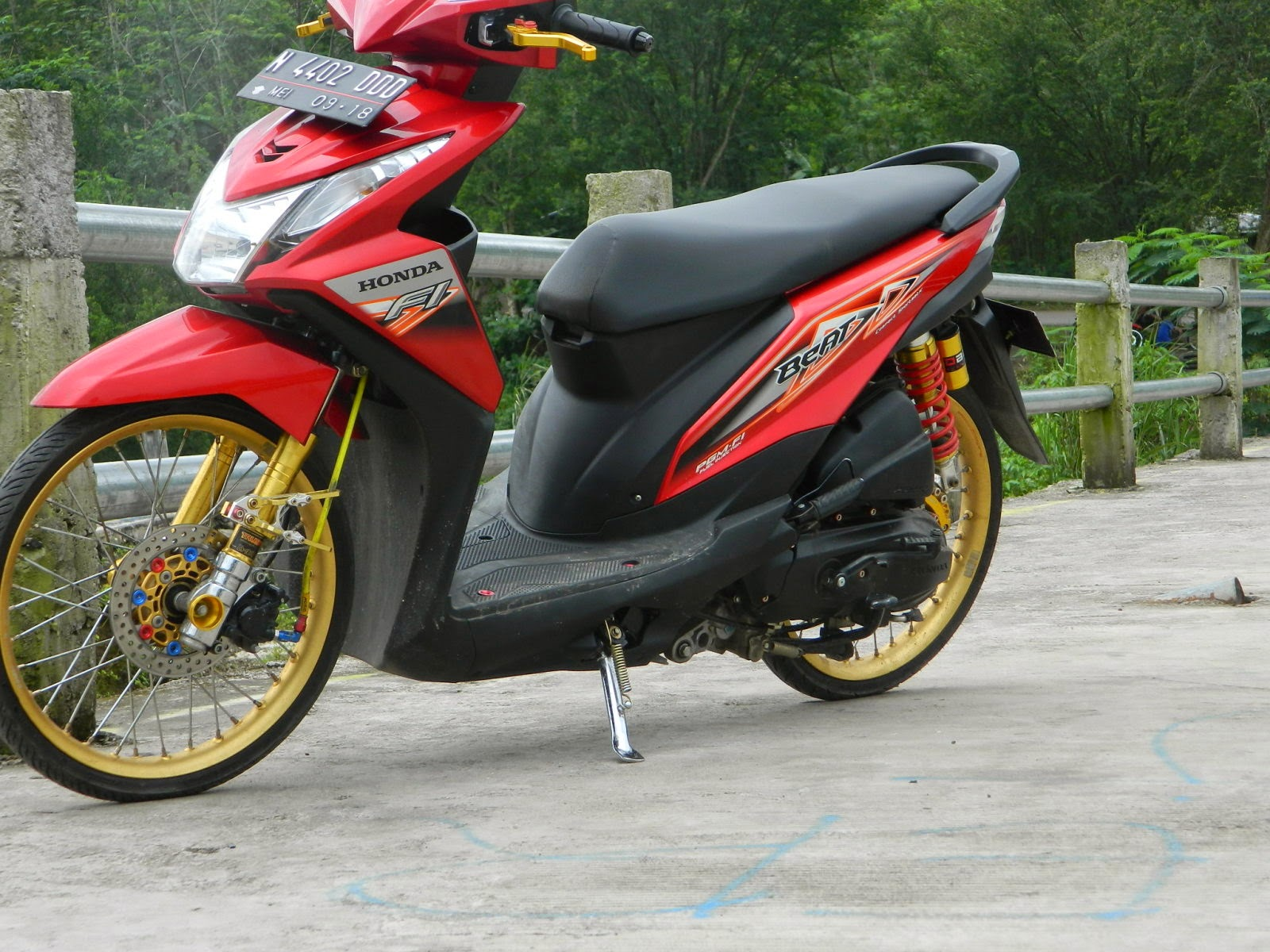 Modifikasi Honda Beat Fi Cw