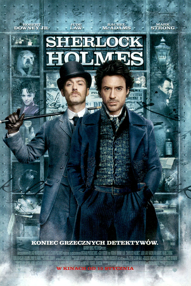 Ulotka filmu 'Sherlock Holmes (przód)'