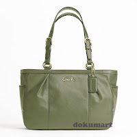 Coach Gallery Leather EW Tote 17721