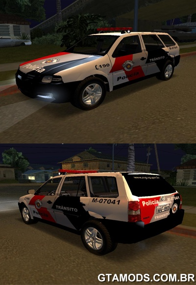 BMW San Rafael >> GTA MODS - Vw Parati G4 Polícia Militar Trânsito
