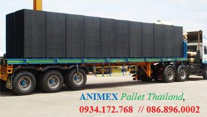 Pallet nhựa oneway nhập khẩu