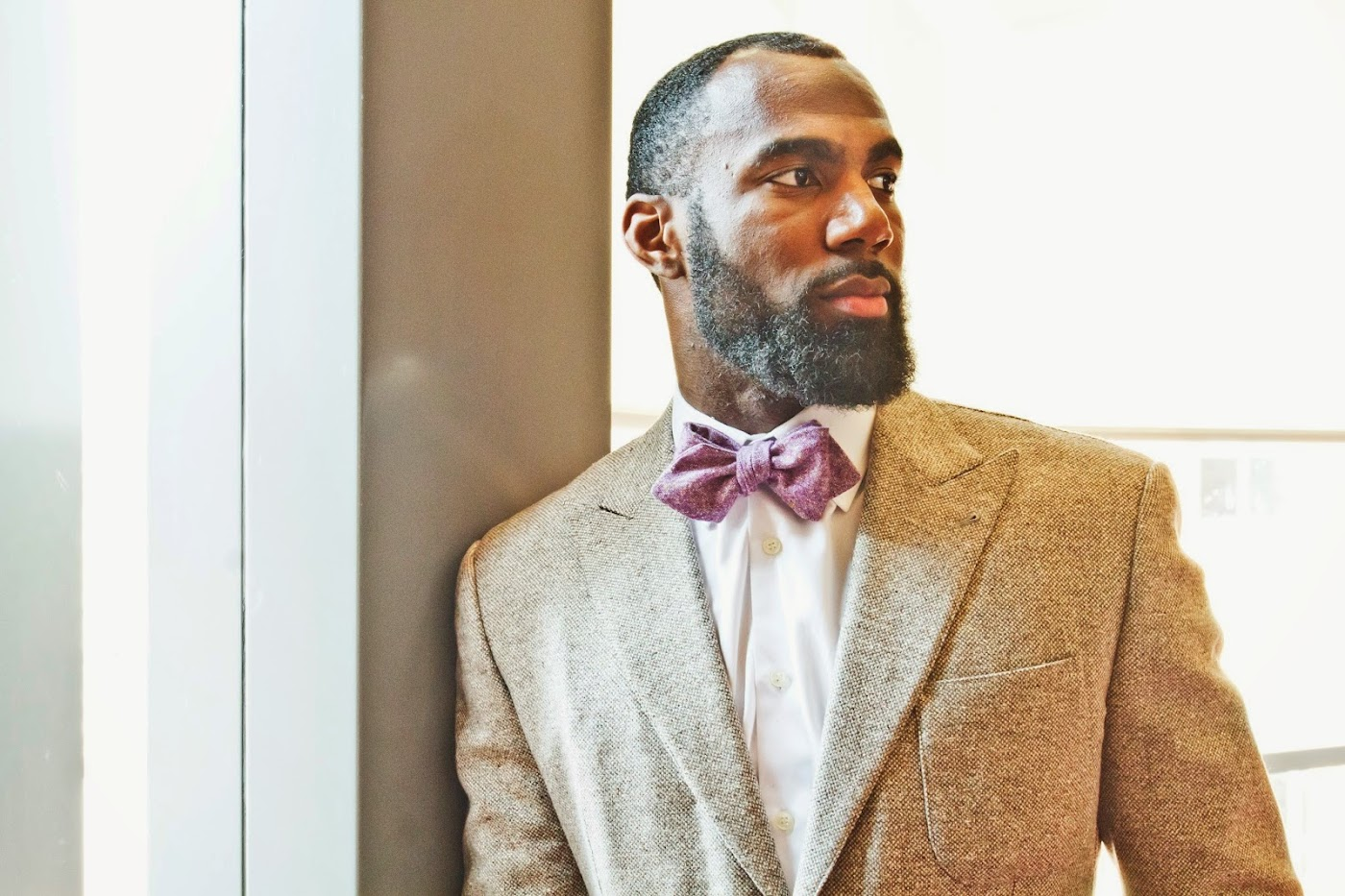 Special Guest Model: Malcolm Jenkins & Rock Avenue Bow Ties [men's fashion]