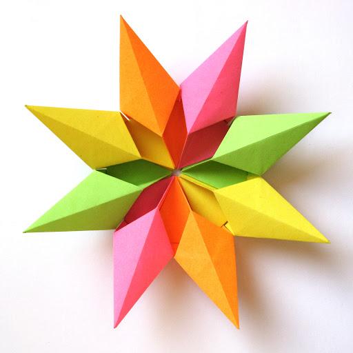 Origami modular foto Stella diamante 2 - Diamond Star 2 by Francesco Guarnieri