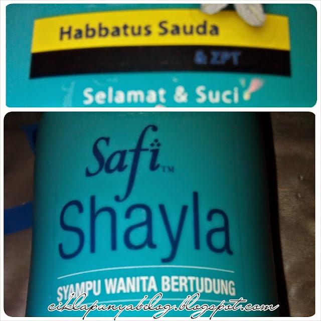 Shampoo SAFI SHAYLA Anti-dandruff.