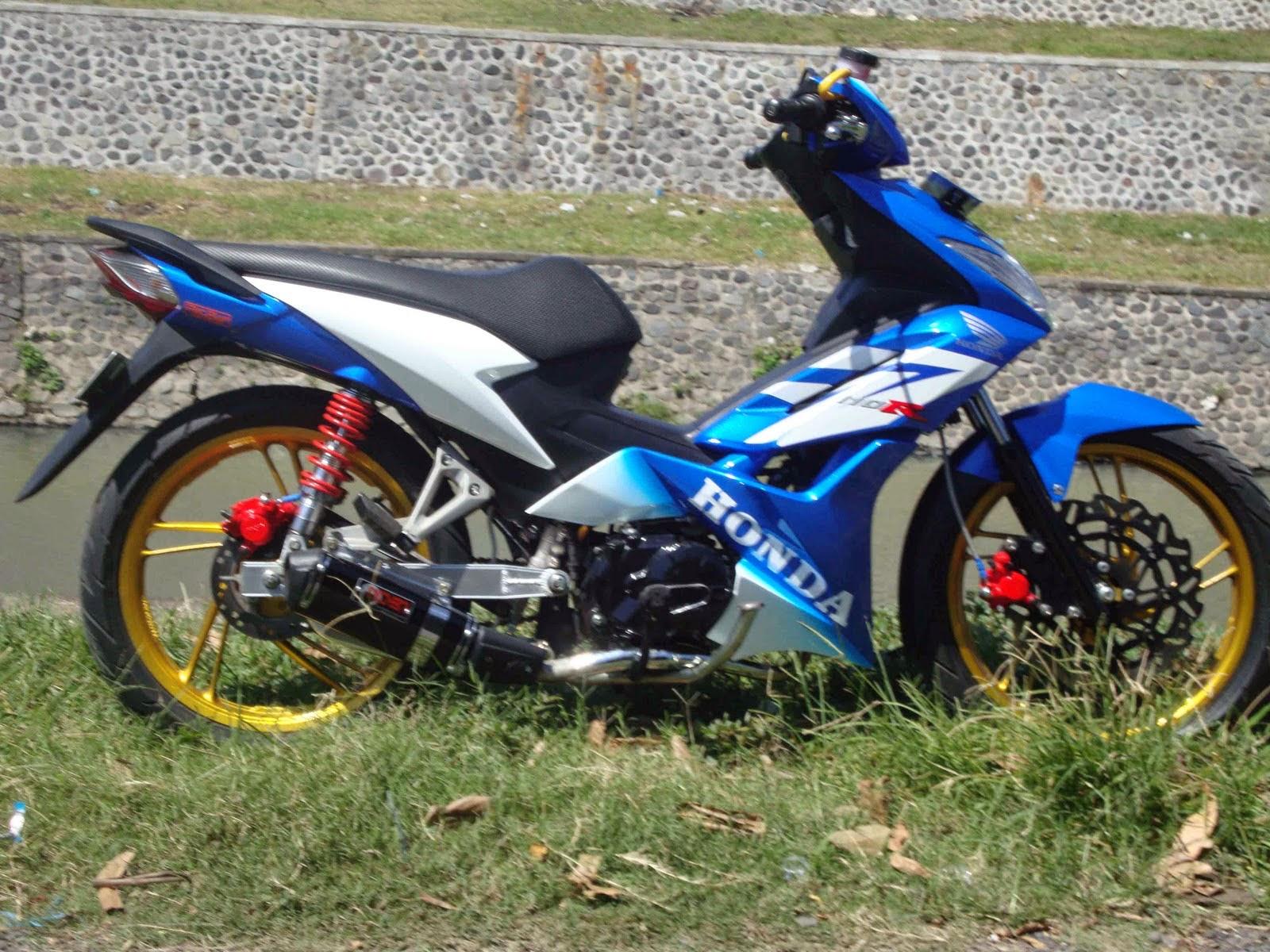 Modifikasi Motor Honda Blade