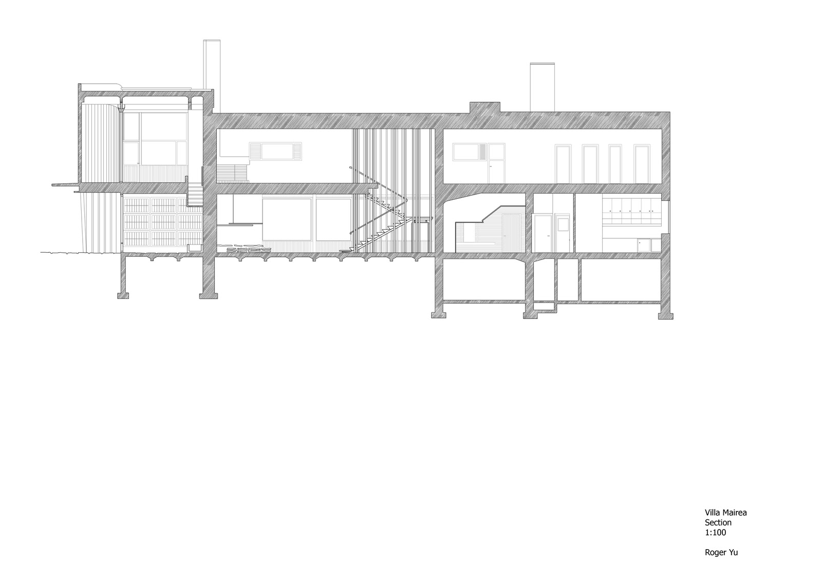Architectural Studio 3: Drawings of Villa Mairea