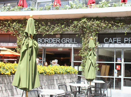 photo of the outside of Border Grill