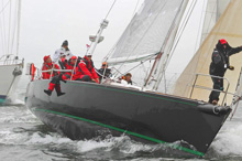 J/122 sailing Block Island Race