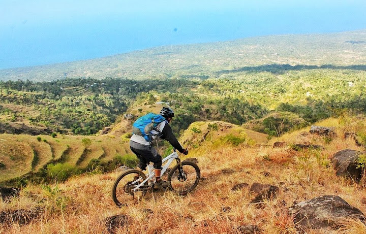 Mountain Biking at Secret Track (Bali)