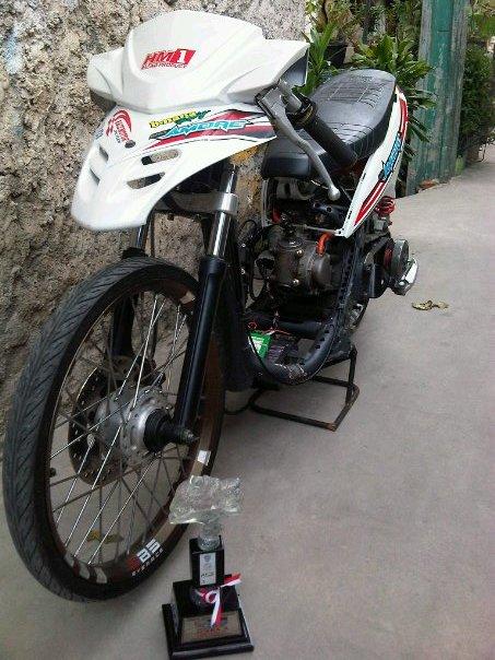 87 Gambar Motor Drag Yamaha Fino Paling Bagus