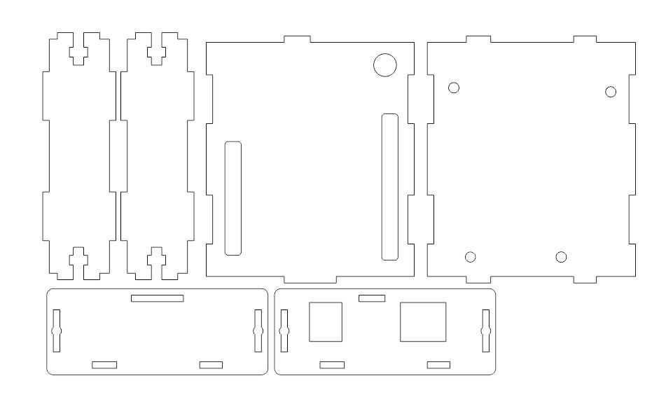 DXF CAD イメージ Arduino Leonardo