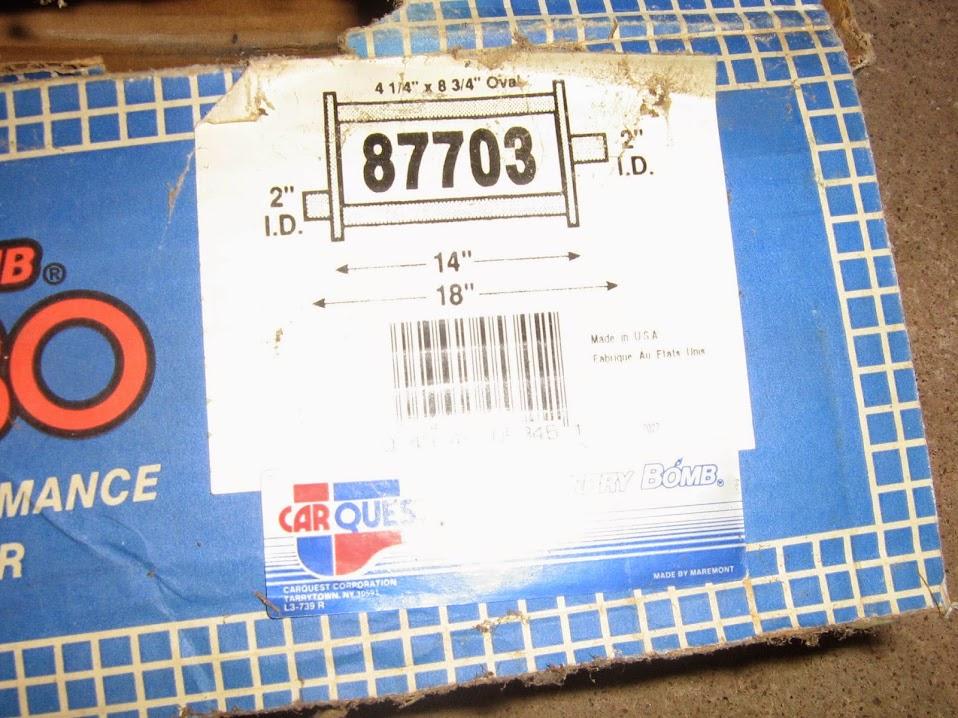 One Cherry Bomb Turbo Muffler NEW IMG_7170