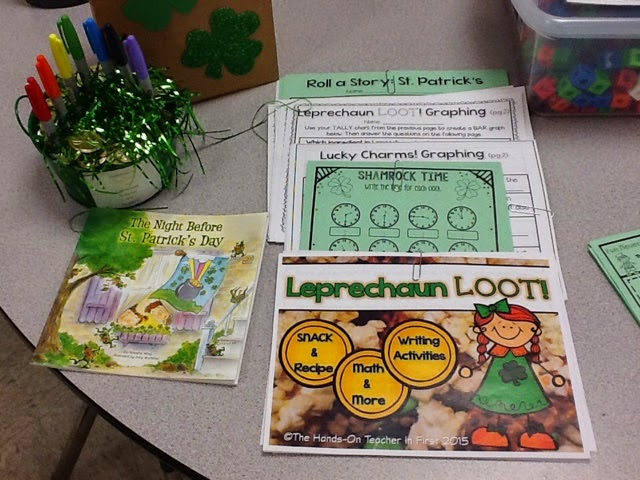 https://www.teacherspayteachers.com/Product/St-Patricks-Leprechaun-Loot-Snack-Math-Writing-1742837