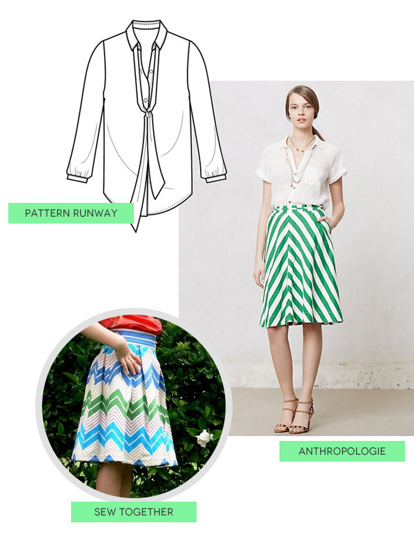 Michael Ann Made // DIY Style: Bright Whites and Summer Stripes