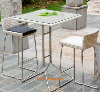 Outdoor Wicker Bar Set Minh Thy 809