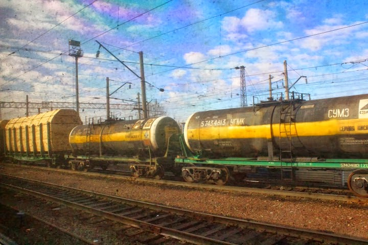 Russian trains cargo petroleum