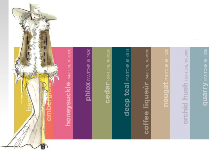 Fall 2011 Fashion Color Trends
