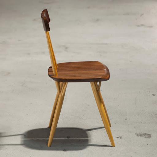 ピルッカチェア(Pirkka Chair):側面