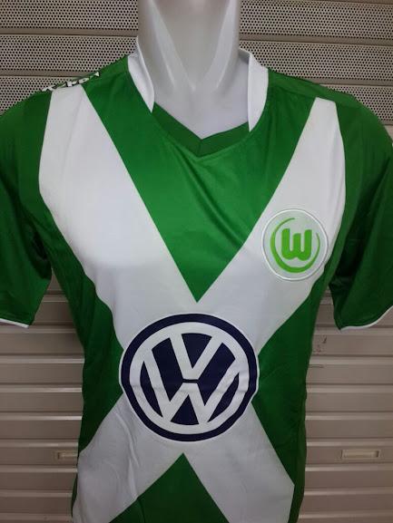 Jual Jersey Wolfsburg Home Terbaru 2014-2015