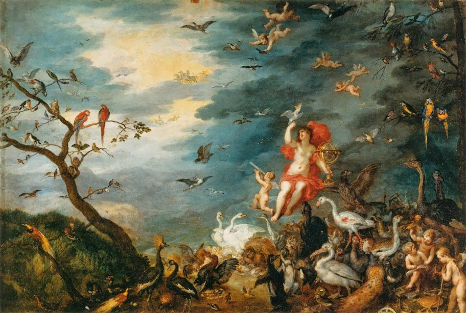 Jan Brueghel the Elder - Air (Optics)