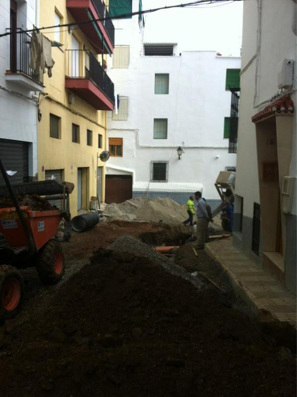 Comienzo de las Obras de la Calle Cádiz