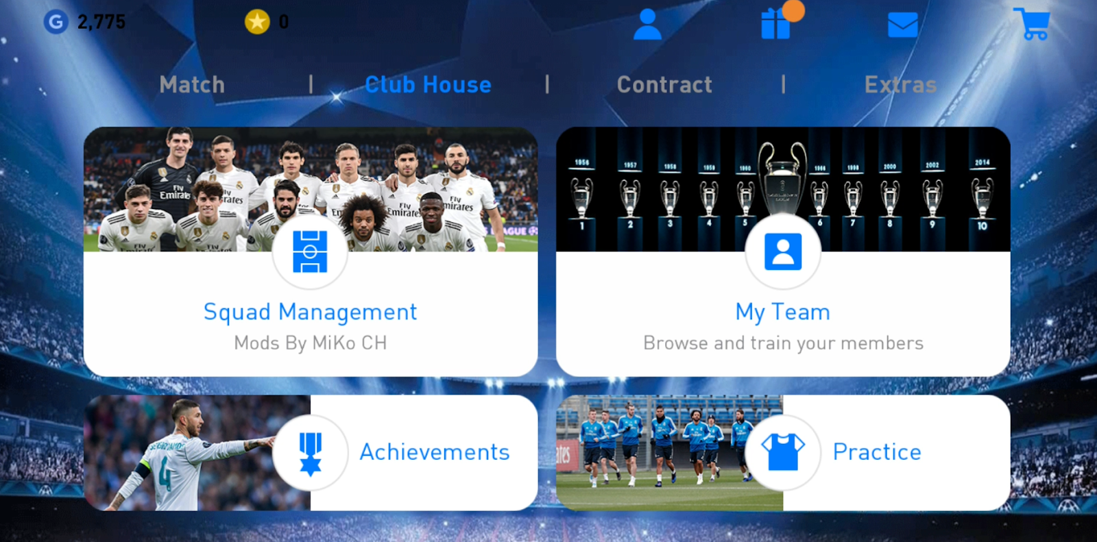 PES 2019 Mobile Patch V3.3.0 Android Offline New Kits Update Best Graphics - Mod Real Madrid FC