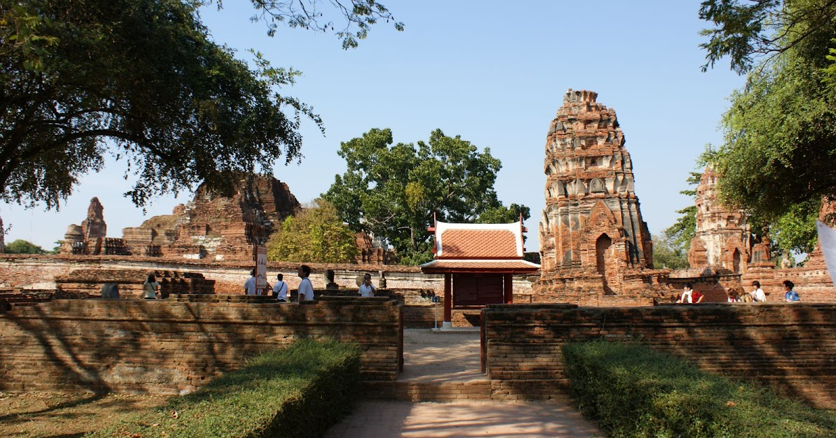大城(Ayutthaya)半日遊