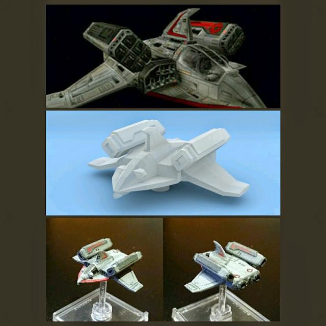 Missile Boat de Mel Miniatures