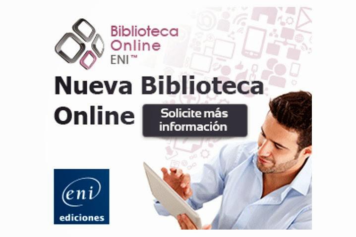Ediciones ENI presenta la Biblioteca Online IT en español
