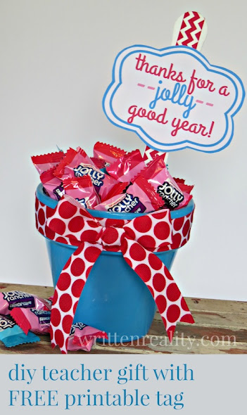 DIY Teacher Appreciation Gift by Written Reality