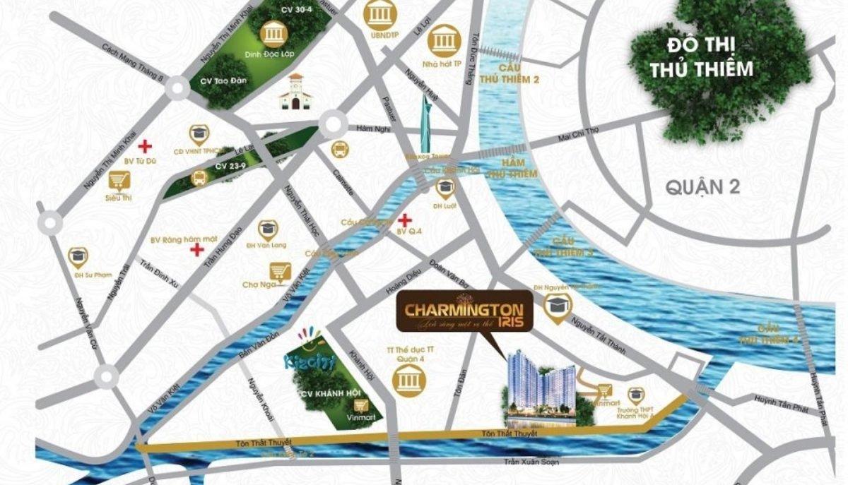 Dự án Charmington Iris xu hướng gia tăng được nhiều người tìm kiếm vì dễ cho thuê