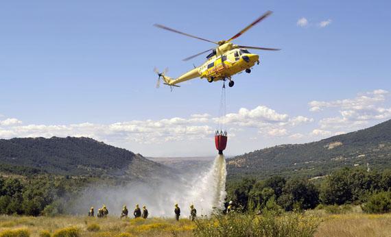 Plan contra incendios verano 2017 de la Delegación de Gobierno en Madrid